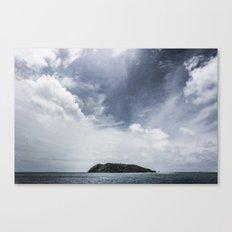 Island in the sun Canvas Print