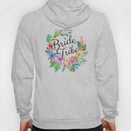Bride Tribe Boho Floral Hoody