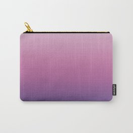 Pink Ultra Violet Ombre Gradient Pattern Carry-All Pouch