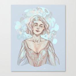 Snow Lady  Canvas Print