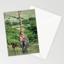 Giraffe Standing tall Stationery Cards