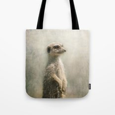 The Watcher on the post... Tote Bag