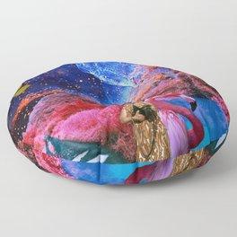 COLLAGE ART BOARD Floor Pillow