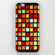 patchwork 001 iPhone & iPod Skin