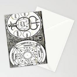Spigel The Art and Nature. Cabala, Speculum Artis et Naturae in Alchymia Stationery Cards