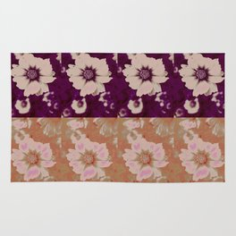 Flower Design @  DieFarbenfluesterin Rug