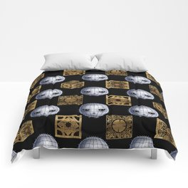 Chibi Pinhead & Puzzle Boxes Comforters