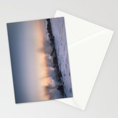 Sunrise at Happisburgh Stationery Cards