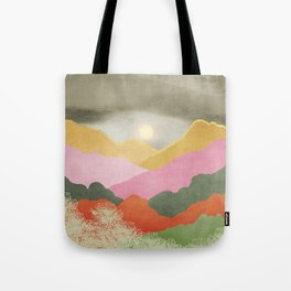 Colorful mountains Tote Bag