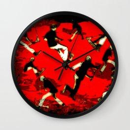 Scooter Mania - Stunt Scooter Fun Wall Clock