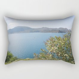 Oleander Againt The Aegean near Selimiye Rectangular Pillow
