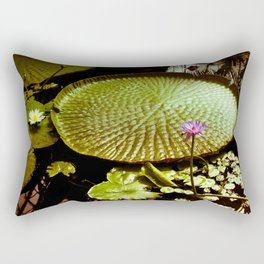 Life Upon A Lily Pad Rectangular Pillow