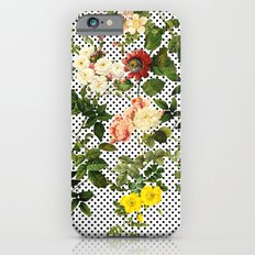 Points and Flowers Pattern iPhone 6 Slim Case