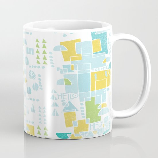 ABSTRACT LANDSCAPE Mug