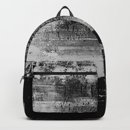 #8 TEXTURED MODERN ABSTRACT PAINTING Backpack
