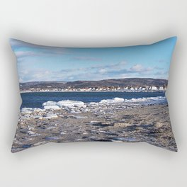 The Cove in Winter Rectangular Pillow