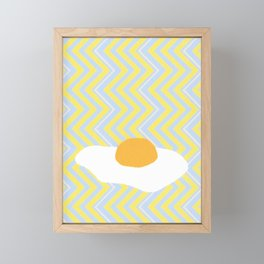 Eggsellent Framed Mini Art Print