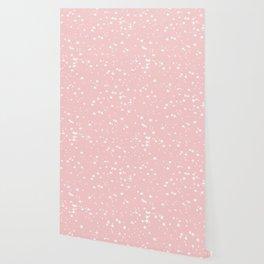 Millennial Pink Stars Wallpaper