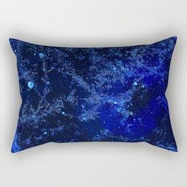Celestial Blues Rectangular Pillow