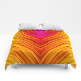 stripes wave pattern 3 s180 Comforters