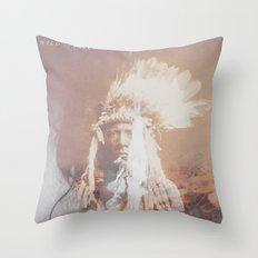 Native Life Throw Pillow