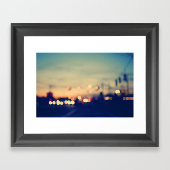 We're only young once Framed Art Print