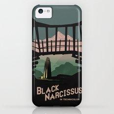 Black Narcissus iPhone 5c Slim Case