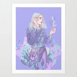 Night Wizard Art Print