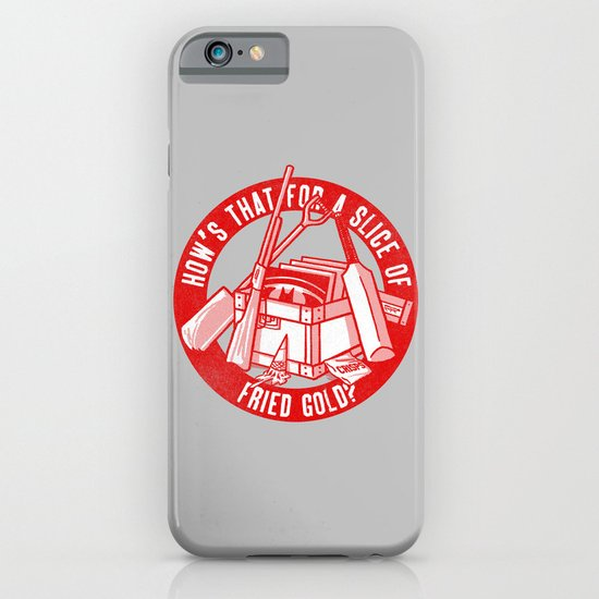 Fried Gold (red on you variant) iPhone & iPod Case
