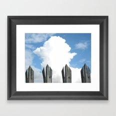 4 Forks Framed Art Print