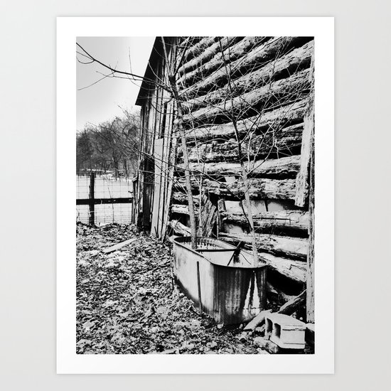 trough Art Print