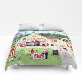 The Calico Cat Quilt Shop Comforters