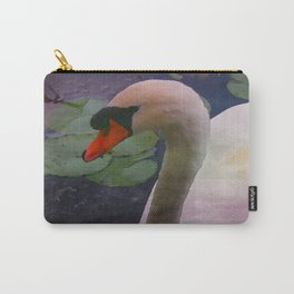 Mute Swan - Water Color Carry-All Pouch