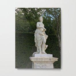 Goddess of the Garden Metal Print