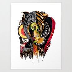 Mirela Art Print