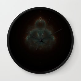 Buddhabrot in false color Wall Clock