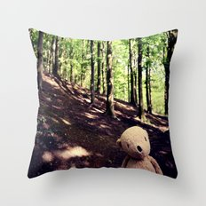 If You Go Down To The Woods Today Throw Pillow