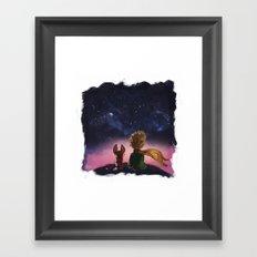 The Little Prince Framed Art Print