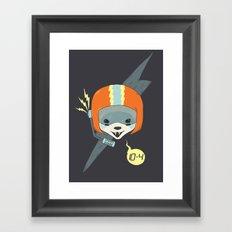 Callsign: Bandit Framed Art Print