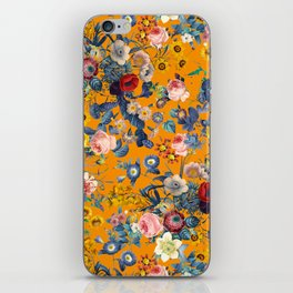 Summer Botanical Garden IX iPhone Skin