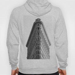 Flatiron Black and White NYC Hoody