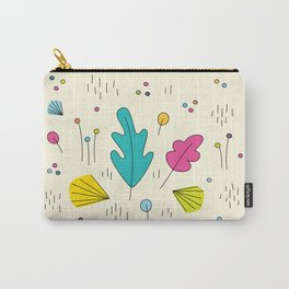 leaves and colors in the forest Carry-All Pouch
