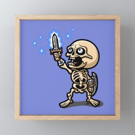 I Have the Power! Framed Mini Art Print