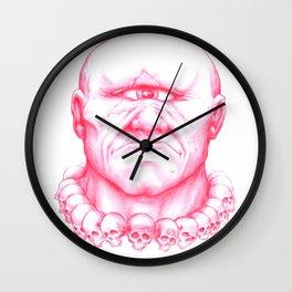 All Seeing Cyclops Wall Clock