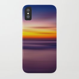 Abstract Seascape 3 iPhone Case