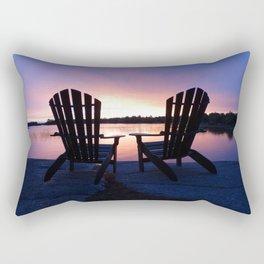 Muskoka Sunset Rectangular Pillow