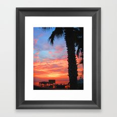 South Padre Island Framed Art Print