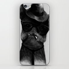 French Dog Blues iPhone & iPod Skin