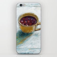 Cherry compote in my cup iPhone & iPod Skin
