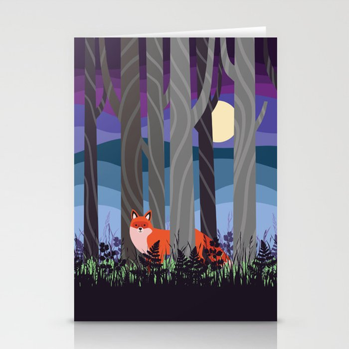 Magical Woodland (St. Norbert) Stationery Cards